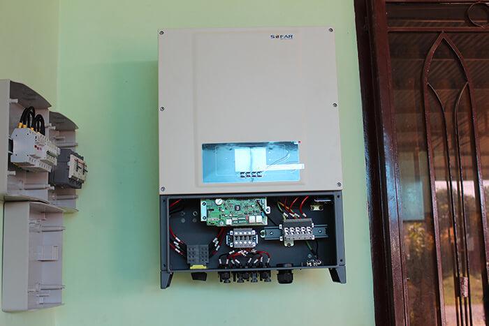 hệ thống điện mặt mặt trời 40KW hòa lưới 3 pha Ở Lâm Đồng 29