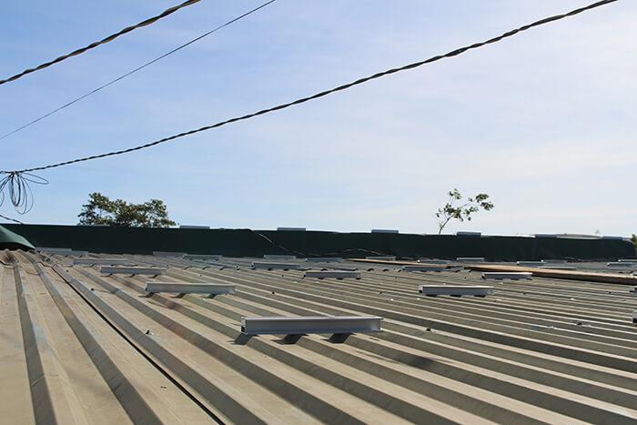 hệ thống điện mặt mặt trời 40KW hòa lưới 3 pha Ở Lâm Đồng 4