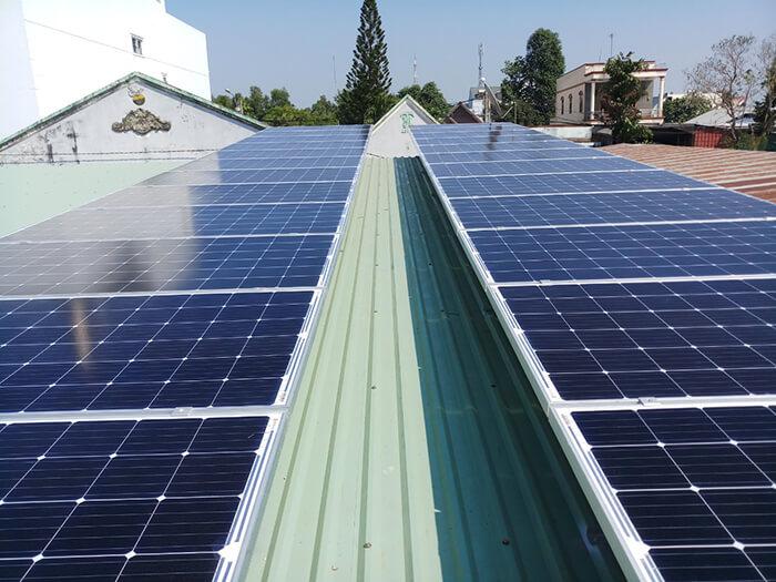 hệ thống điện mặt trời hòa lưới 3 pha 10KW ở Củ Chi 3