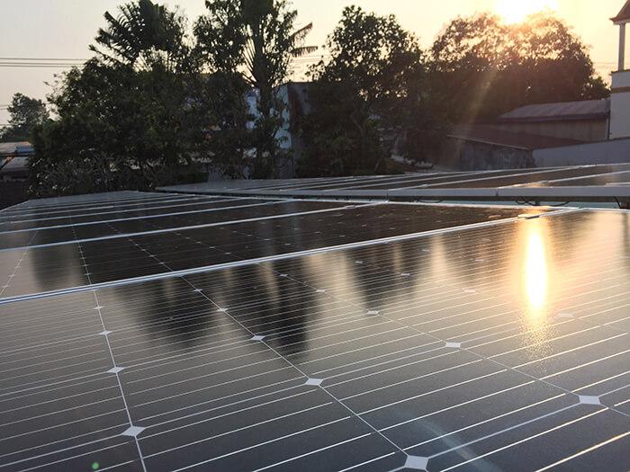 hệ thống điện mặt trời hòa lưới 3 pha 10KW ở Củ Chi 4