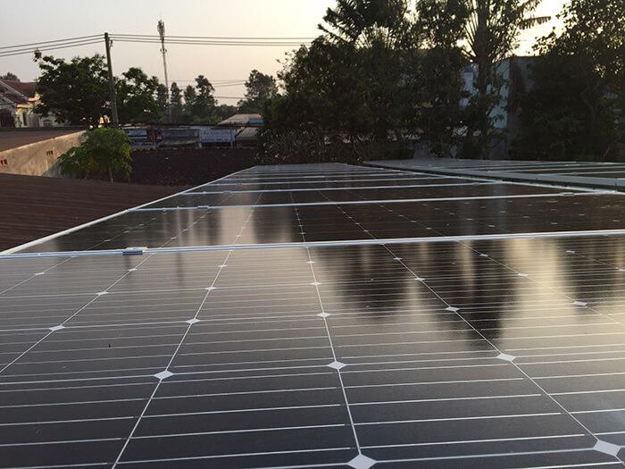 hệ thống điện mặt trời hòa lưới 3 pha 10KW ở Củ Chi 5