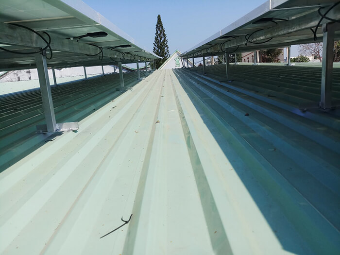 hệ thống điện mặt trời hòa lưới 3 pha 10KW ở Củ Chi 6