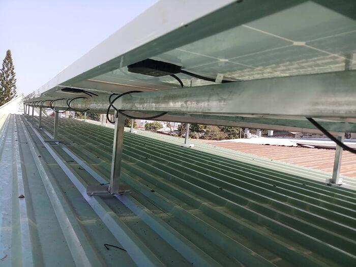 hệ thống điện mặt trời hòa lưới 3 pha 10KW ở Củ Chi 7