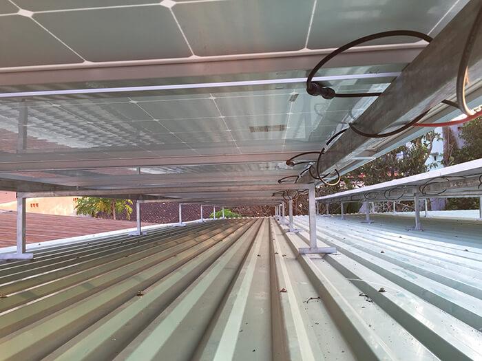 hệ thống điện mặt trời hòa lưới 3 pha 10KW ở Củ Chi 8