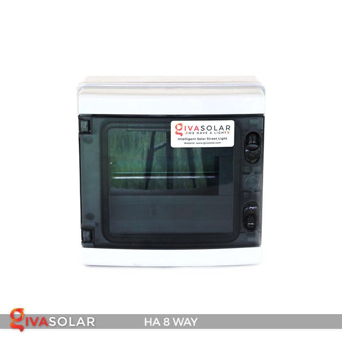 Tủ điện pin mặt trời HA 8 Way 1