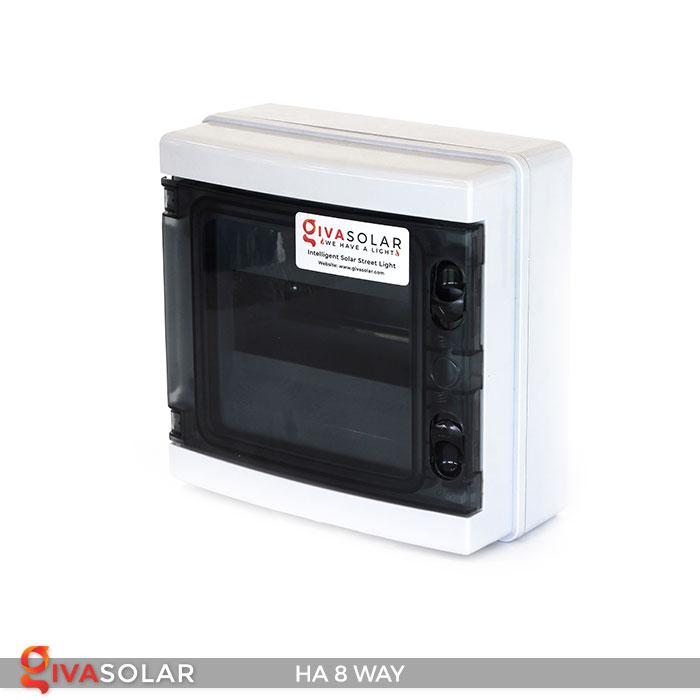 Tủ điện pin mặt trời HA 8 Way 2
