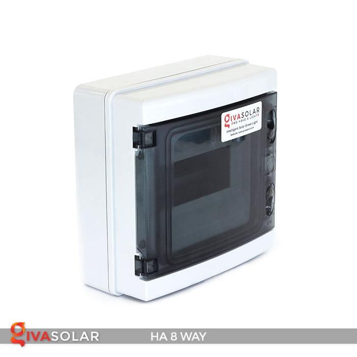Tủ điện pin mặt trời HA 8 Way 3
