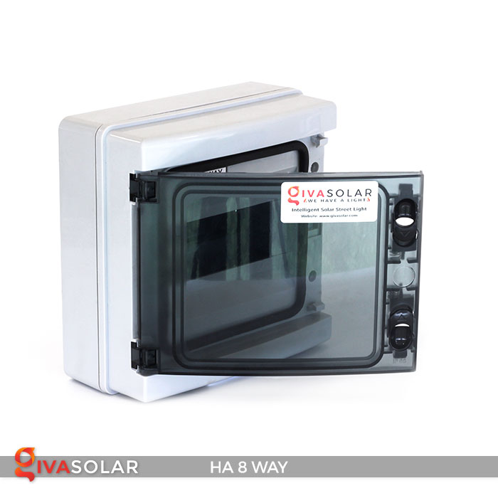 Tủ điện pin mặt trời HA 8 Way 4