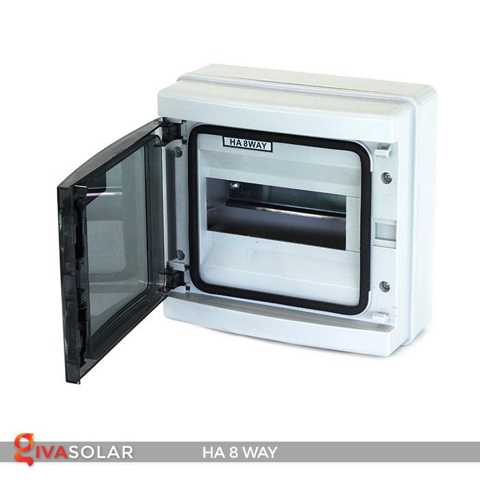 Tủ điện pin mặt trời HA 8 Way 5