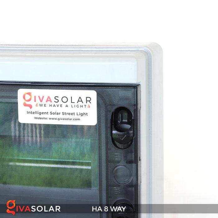 Tủ điện pin mặt trời HA 8 Way 8