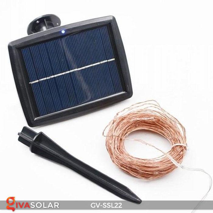 Dây đèn Led trang trí dùng năng lượng mặt trời GV-SSL22 1