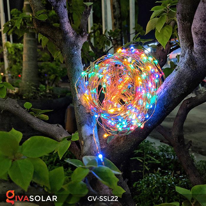 Dây đèn Led trang trí dùng năng lượng mặt trời GV-SSL22 11