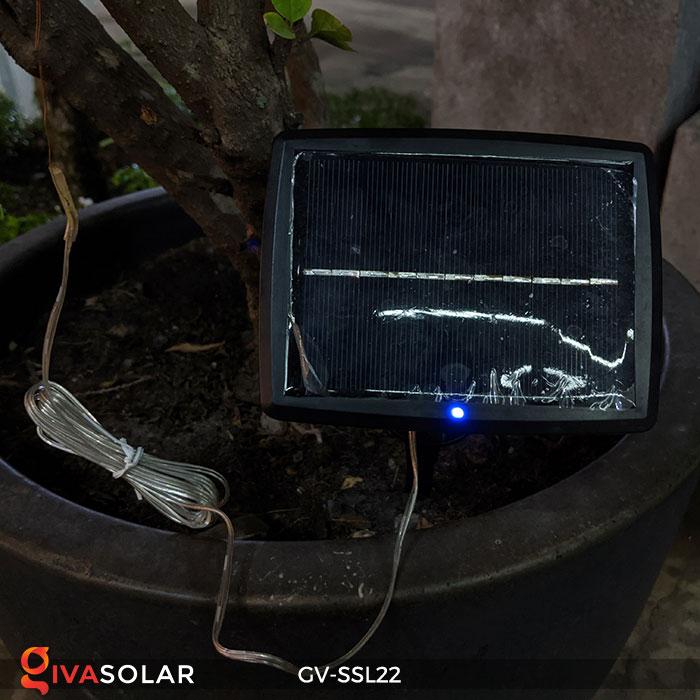Dây đèn Led trang trí dùng năng lượng mặt trời GV-SSL22 12