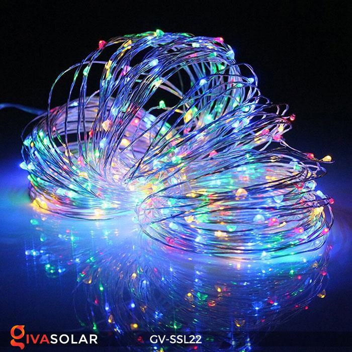 Dây đèn Led trang trí dùng năng lượng mặt trời GV-SSL22 13