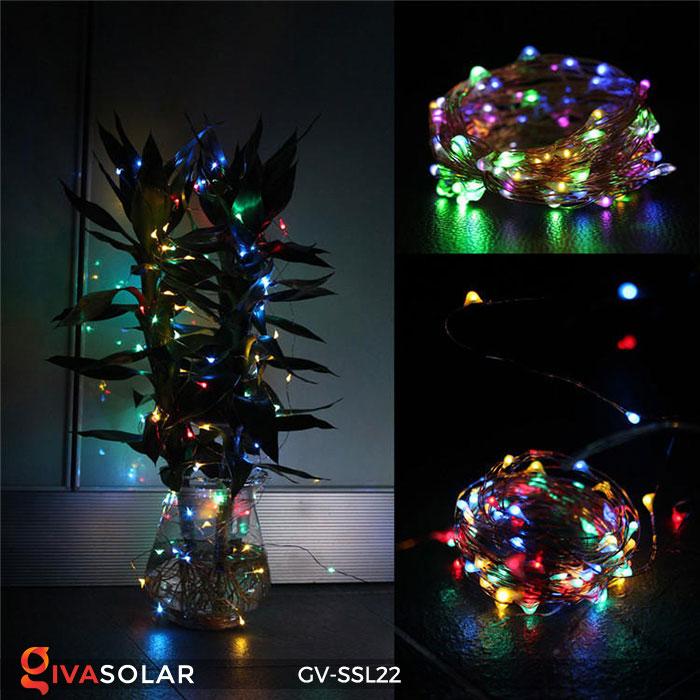 Dây đèn Led trang trí dùng năng lượng mặt trời GV-SSL22 15
