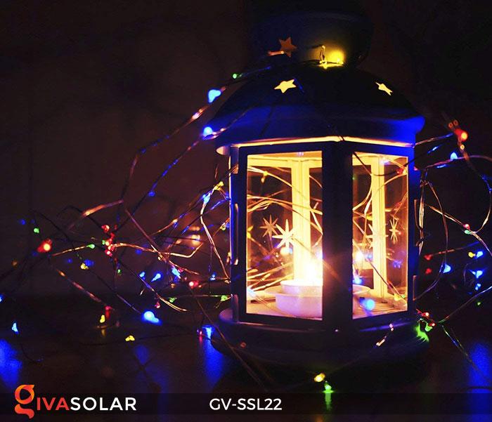 Dây đèn Led trang trí dùng năng lượng mặt trời GV-SSL22 16