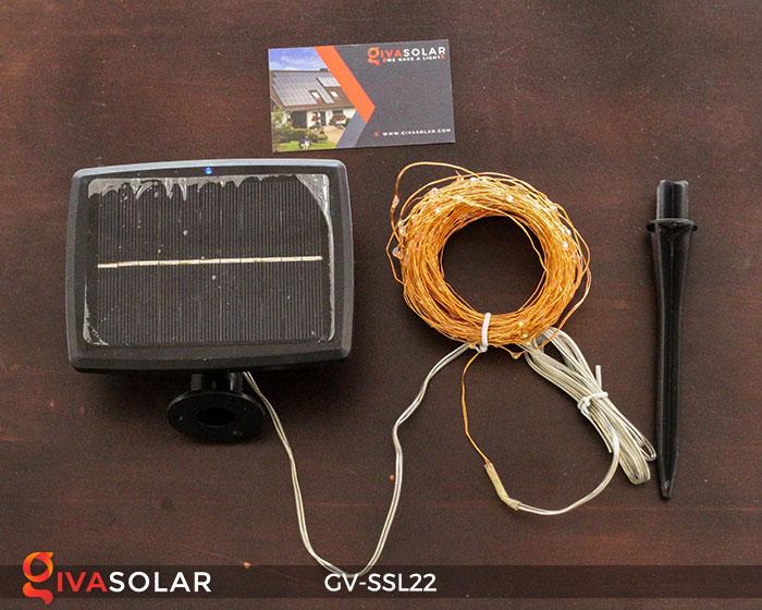 Dây đèn Led trang trí dùng năng lượng mặt trời GV-SSL22 17