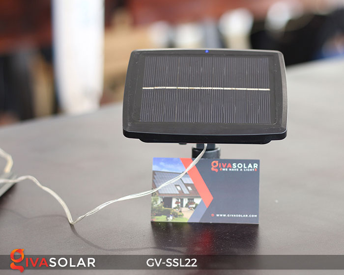 Dây đèn Led trang trí dùng năng lượng mặt trời GV-SSL22 18