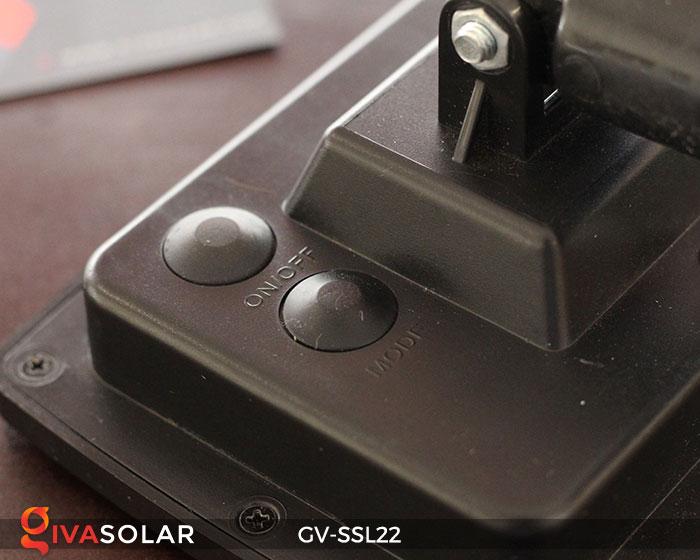 Dây đèn Led trang trí dùng năng lượng mặt trời GV-SSL22 20