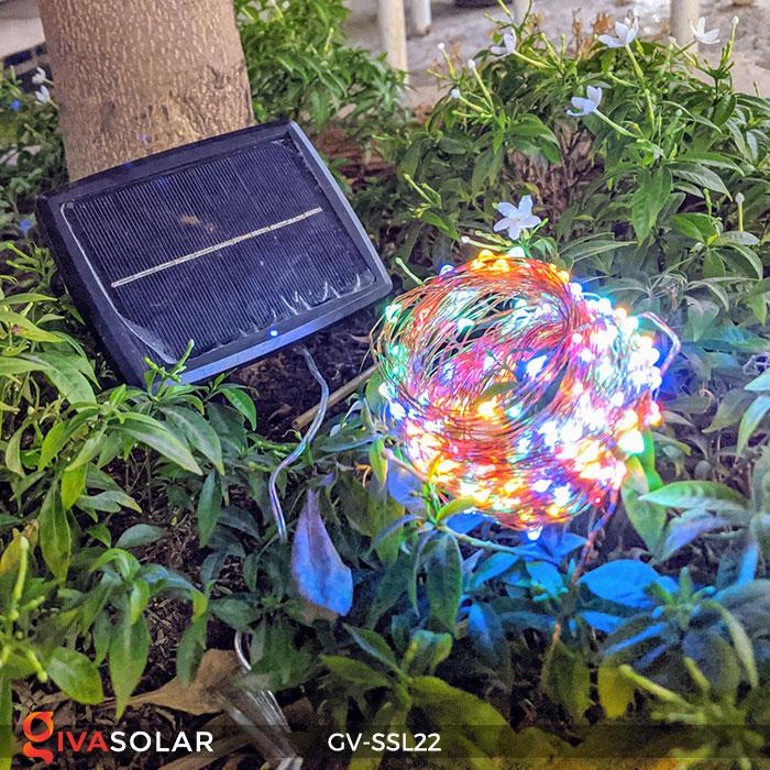 Dây đèn Led trang trí dùng năng lượng mặt trời GV-SSL22 3