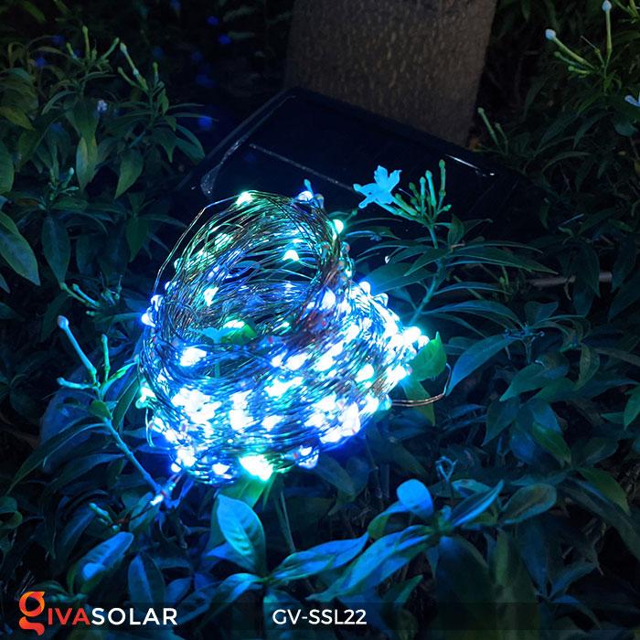 Dây đèn Led trang trí dùng năng lượng mặt trời GV-SSL22 4