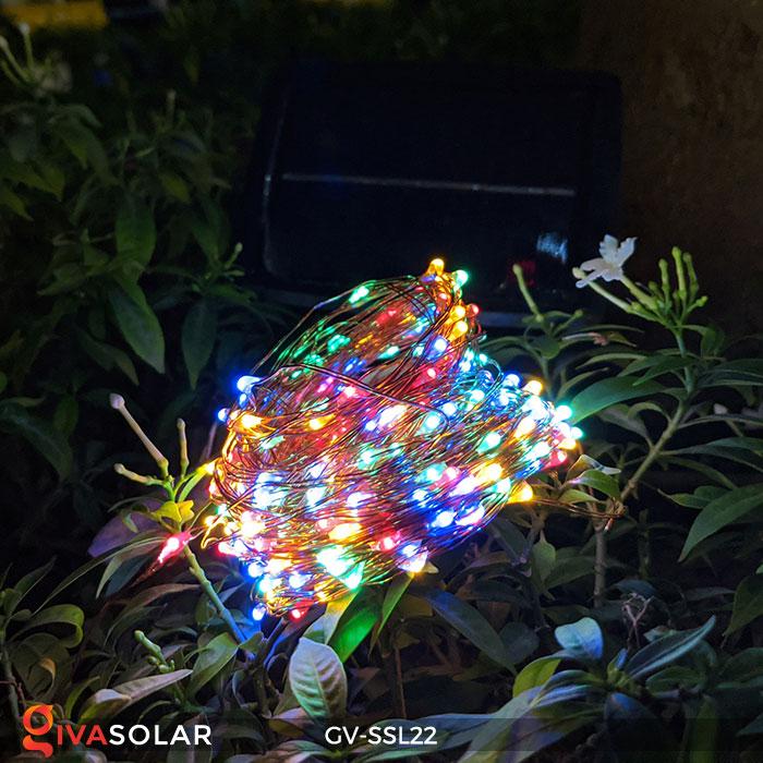Dây đèn Led trang trí dùng năng lượng mặt trời GV-SSL22 5