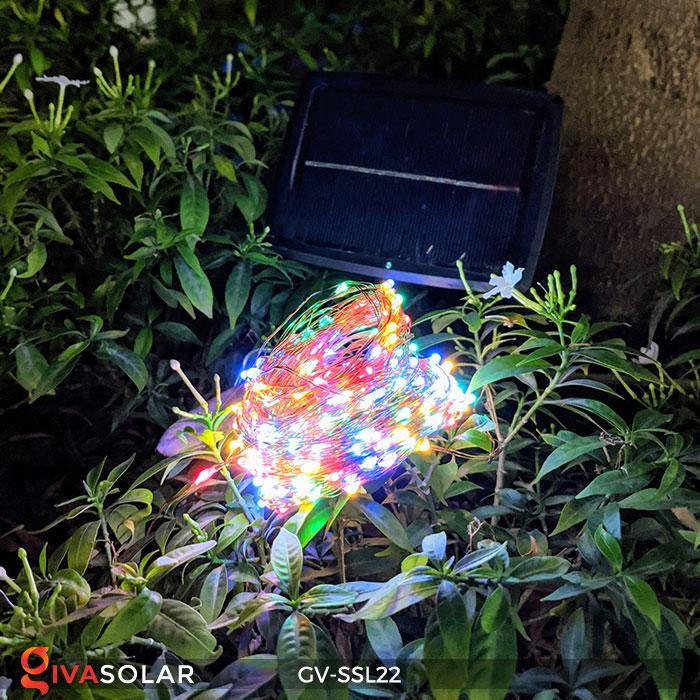 Dây đèn Led trang trí dùng năng lượng mặt trời GV-SSL22 6