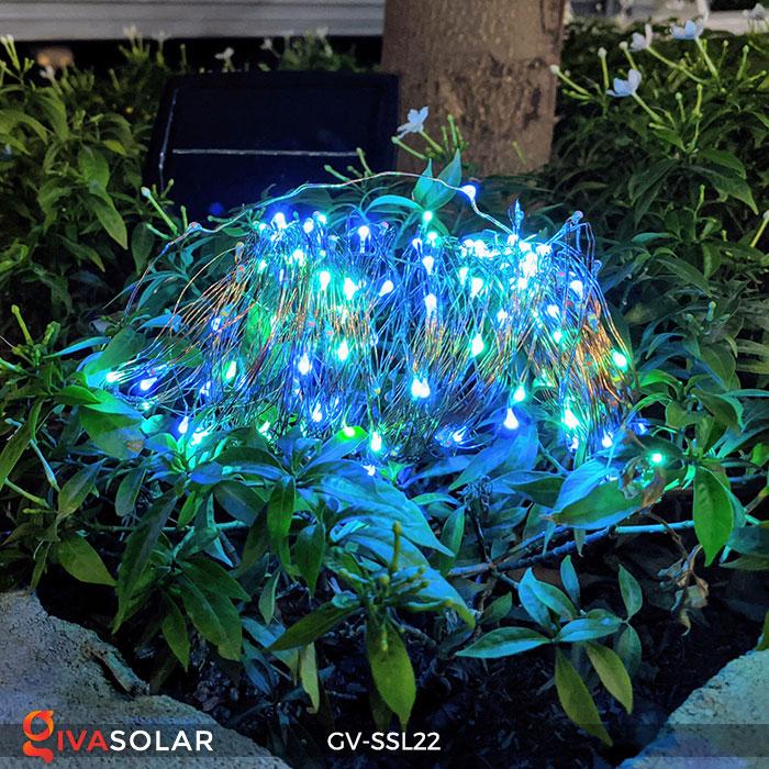 Dây đèn Led trang trí dùng năng lượng mặt trời GV-SSL22 7