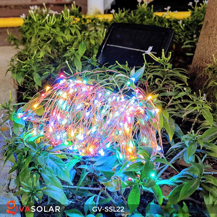 Dây đèn Led trang trí dùng năng lượng mặt trời GV-SSL22 8