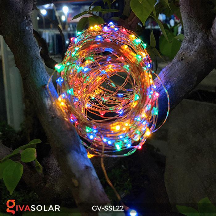 Dây đèn Led trang trí dùng năng lượng mặt trời GV-SSL22 9