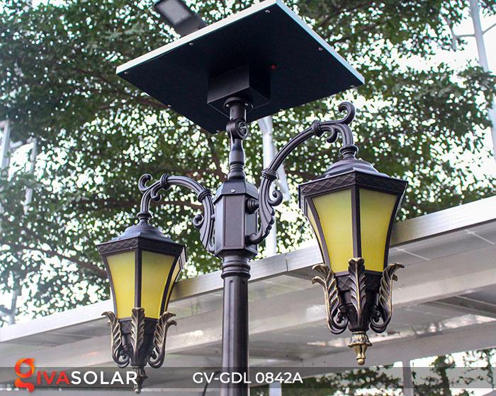 Đèn cột sân vườn dùng điện mặt trời GV-GDL0842A 5