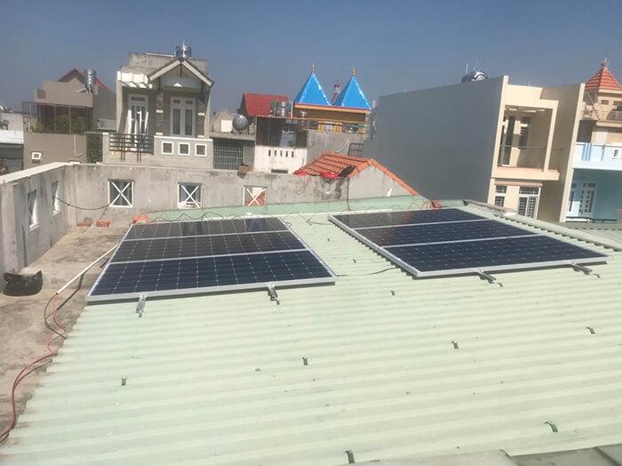 Lắp điện mặt trời hòa lưới 5KW cho Anh Tám ở Vũng Tàu 7