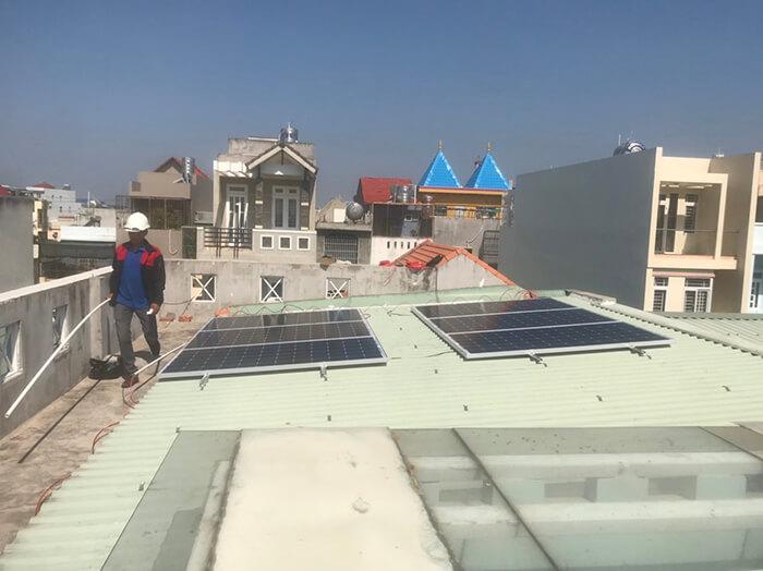 Lắp điện mặt trời hòa lưới 5KW cho Anh Tám ở Vũng Tàu 8