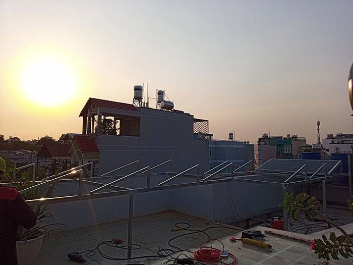 hệ thống điện mặt trời hòa lưới 3KW cho anh Danh ở Gò Vấp 3