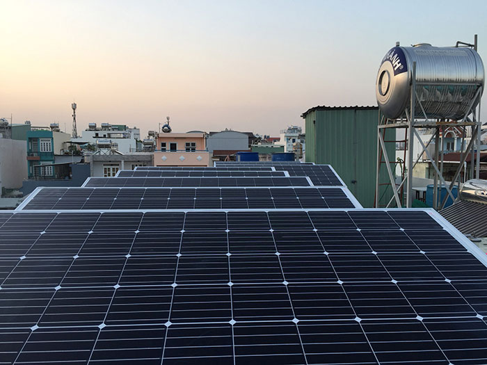 hệ thống điện mặt trời hòa lưới 3KW cho anh Danh ở Gò Vấp 6