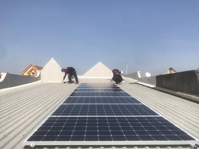 lắp đặt hệ thống điện mặt trời 3KW hòa lưới cho anh Sơn ở BRVT 3