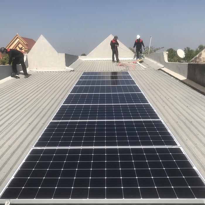 lắp đặt hệ thống điện mặt trời 3KW hòa lưới cho anh Sơn ở BRVT 4