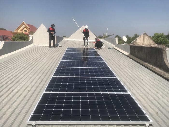 lắp đặt hệ thống điện mặt trời 3KW hòa lưới cho anh Sơn ở BRVT 6