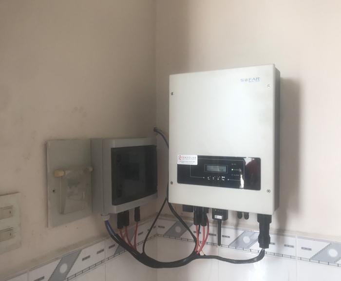 lắp đặt hệ thống điện mặt trời 3KW hòa lưới cho anh Sơn ở BRVT 7