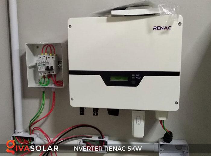 Inverter hòa lưới 1 pha RENAC NAC5K-DS 5KW 8