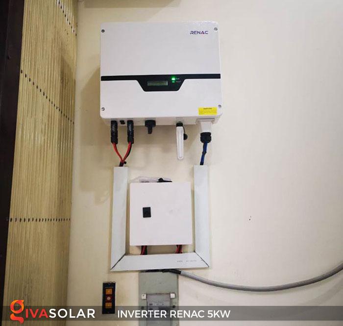 Inverter hòa lưới 1 pha RENAC NAC5K-DS 5KW 9