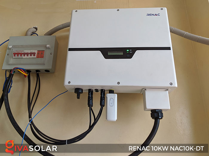 Inverter hòa lưới 3 pha RENAC 10kW 10