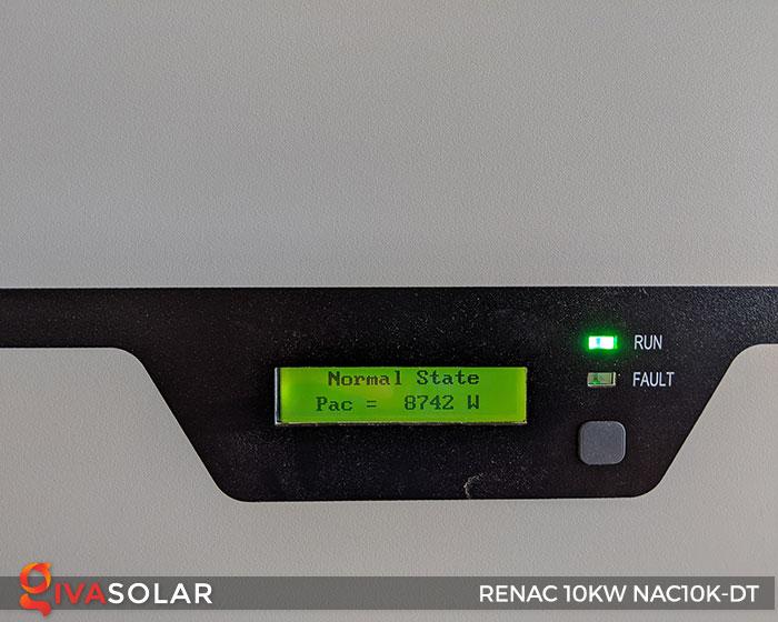 Inverter hòa lưới 3 pha RENAC 10kW 13