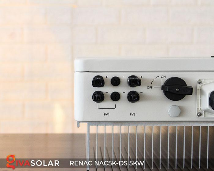 Inverter hòa lưới RENAC 5kW 10