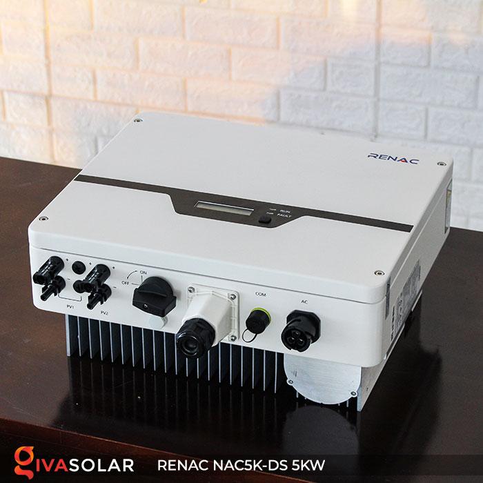 Inverter hòa lưới RENAC 5kW 3