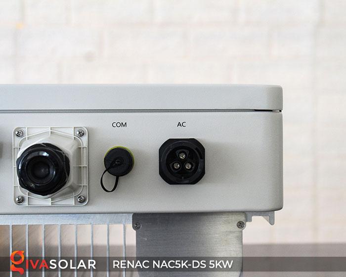 Inverter hòa lưới RENAC 5kW 9