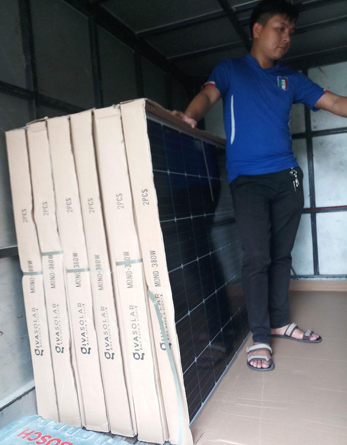 lắp đặt hệ thống điện mặt trời 10KW cho chú Ích ở Bình Chánh 1