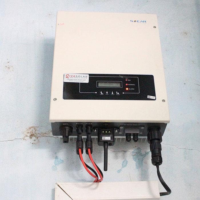 lắp đặt hệ thống điện mặt trời 10KW cho chú Ích ở Bình Chánh 14