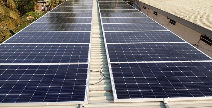 lắp đặt hệ thống điện mặt trời 10KW cho chú Ích ở Bình Chánh 4