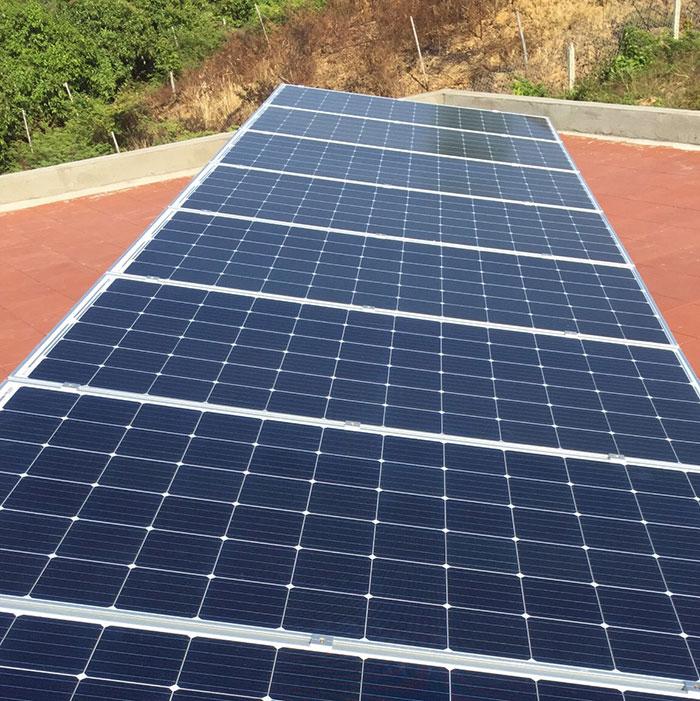 Lắp đặt hệ thống điện mặt trời độc lập 3KW cho anh Vững ở Đồng Nai 10